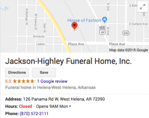 Our History – Jackson Highley Funeral Home